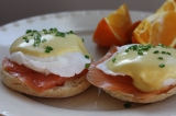 Making Smoked Salmon Eggs Benedict